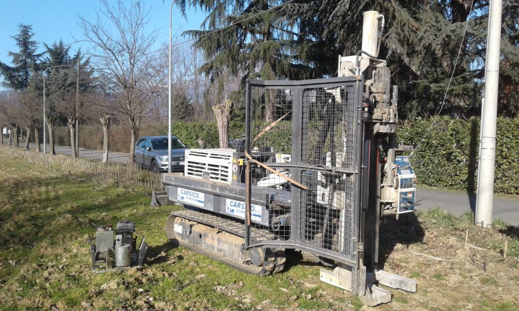Carsico Srl - indagini direct-push con Geoprobe