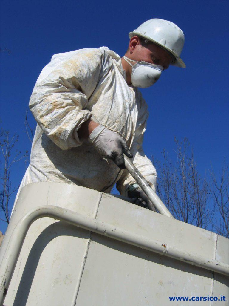 Carsico Srl - Bonifica di siti contaminati mediante iniezione di prodotti reagenti in falda