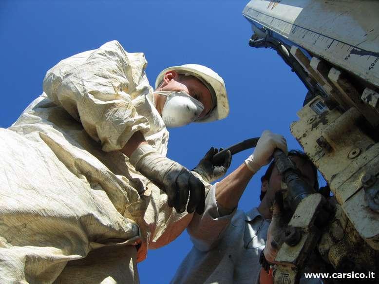 Carsico Srl - iniezione di prodotti reagenti con sistema Geoprobe